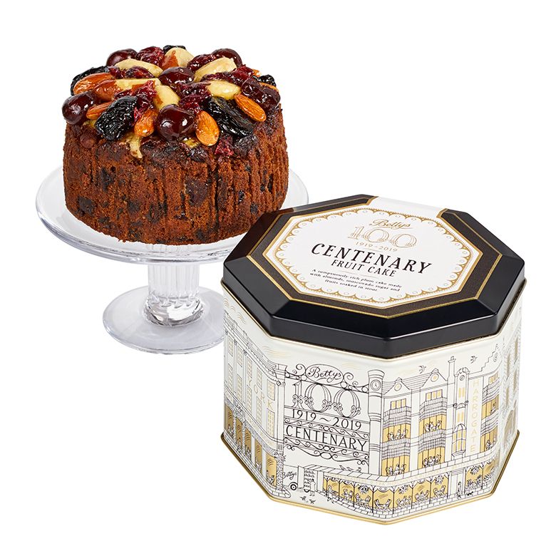 Centenary Fruit Cake In A Tin