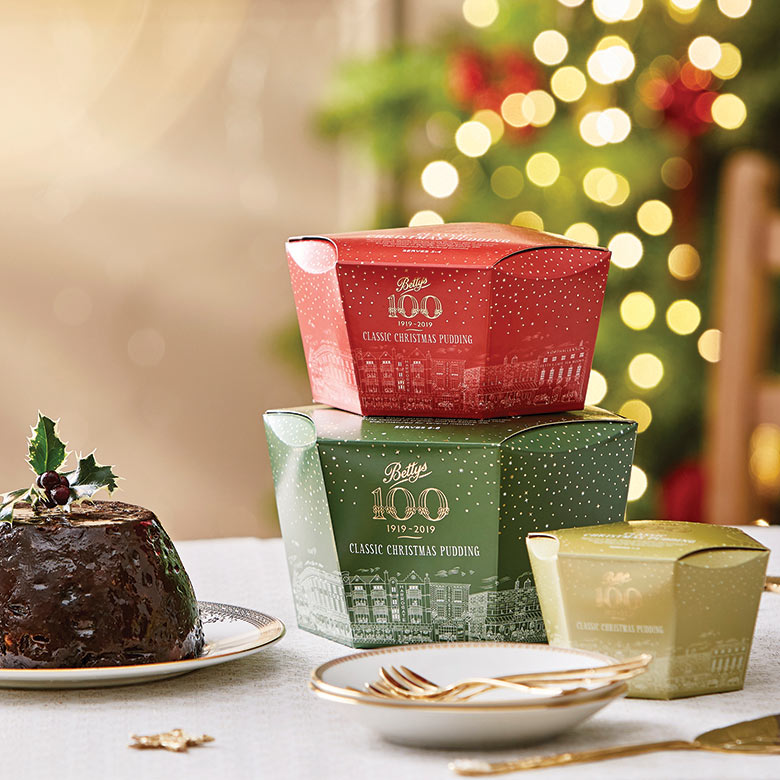 Bettys Classic Christmas Puddings