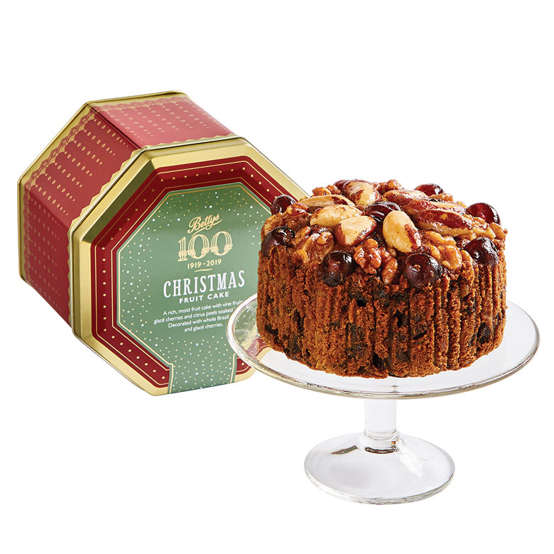 Christmas Fruit Cake in a Tin