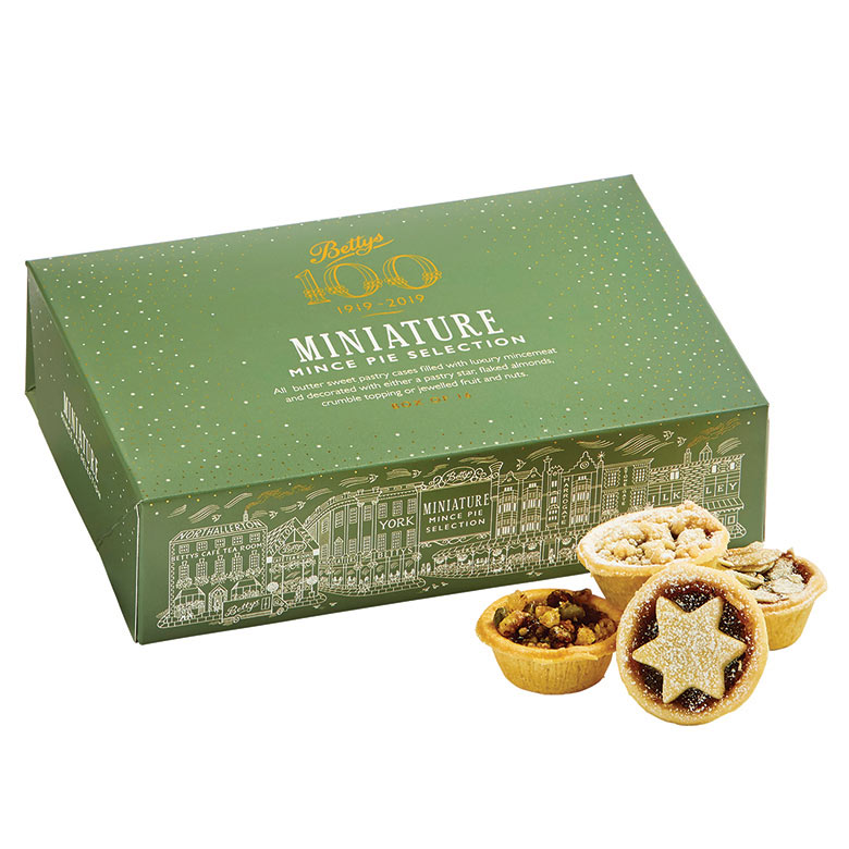 Miniature Mince Pie Selection Box of 16