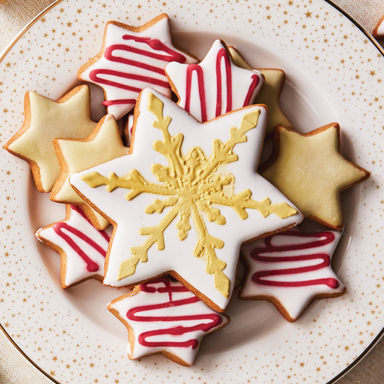 Christmas Lebkuchen Biscuit Selection