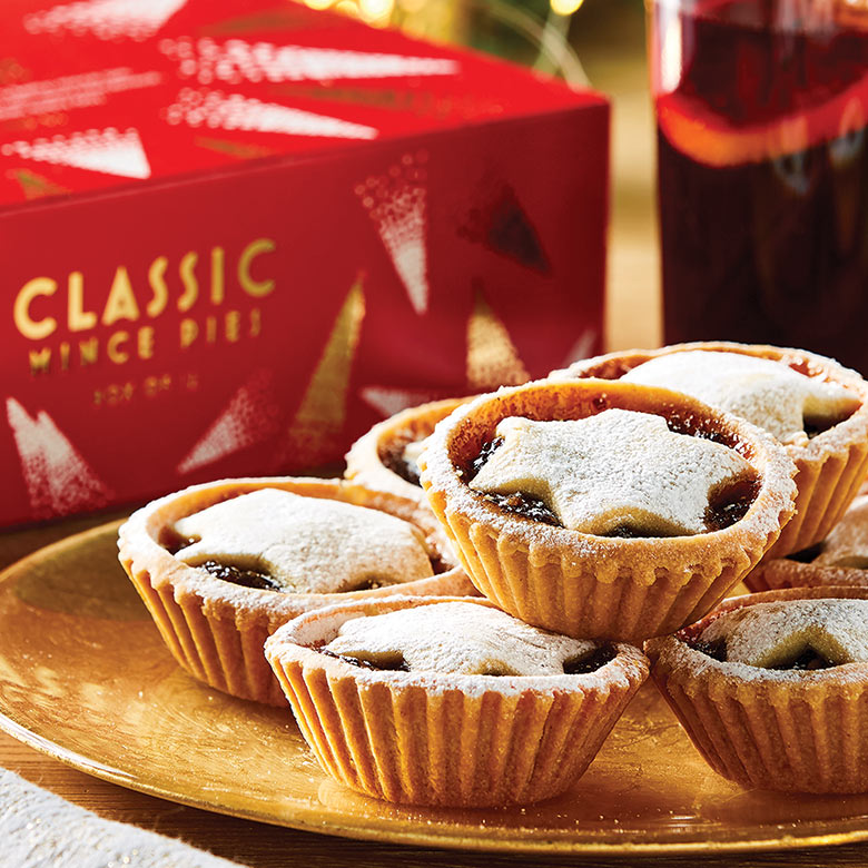 Classic Mince Pies Box of 12