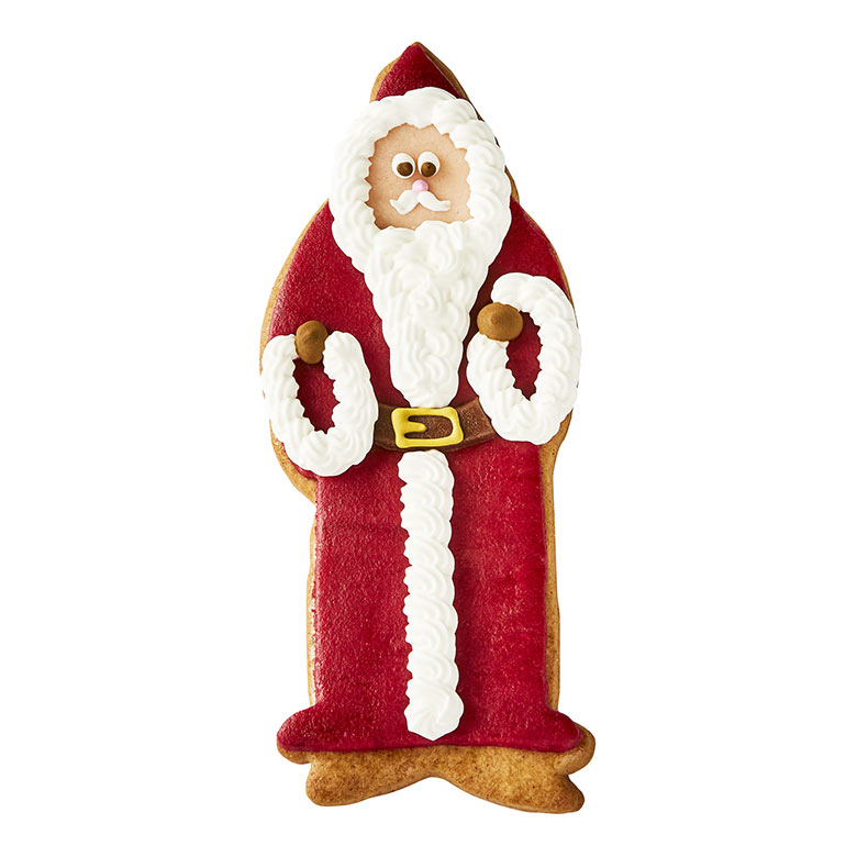 Lebkuchen Father Christmas Biscuit