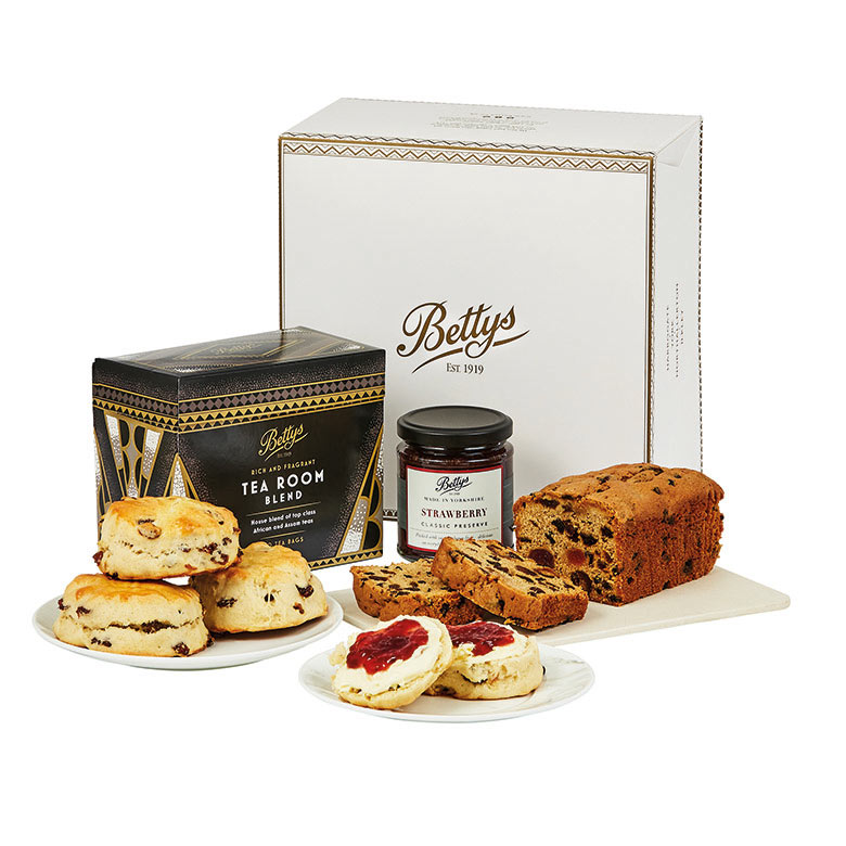Tea and Scone Gift Selection