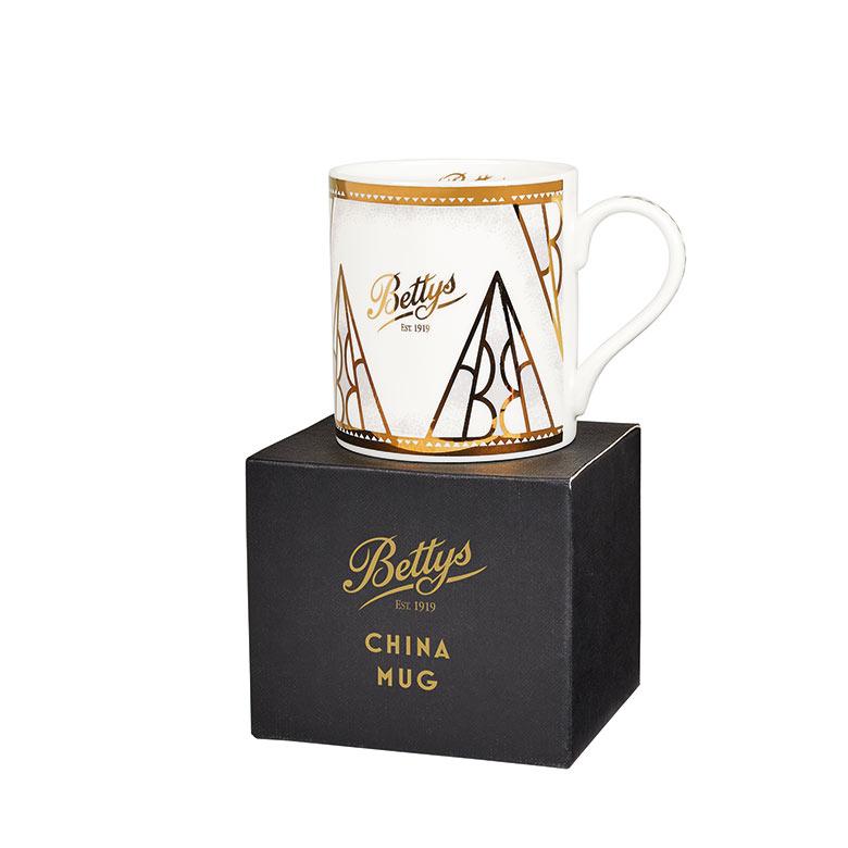 Bettys China Mug with Box