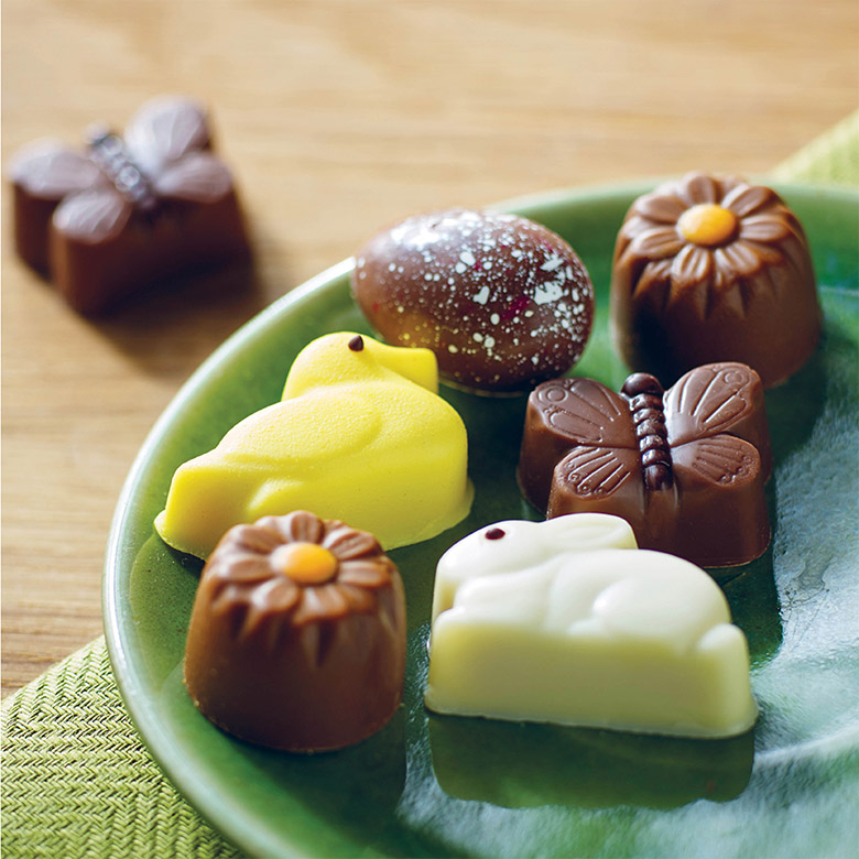 Caramel-filled Chocolate Easter Selection