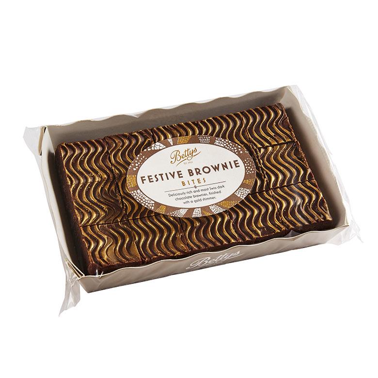 Festive Brownie Bites