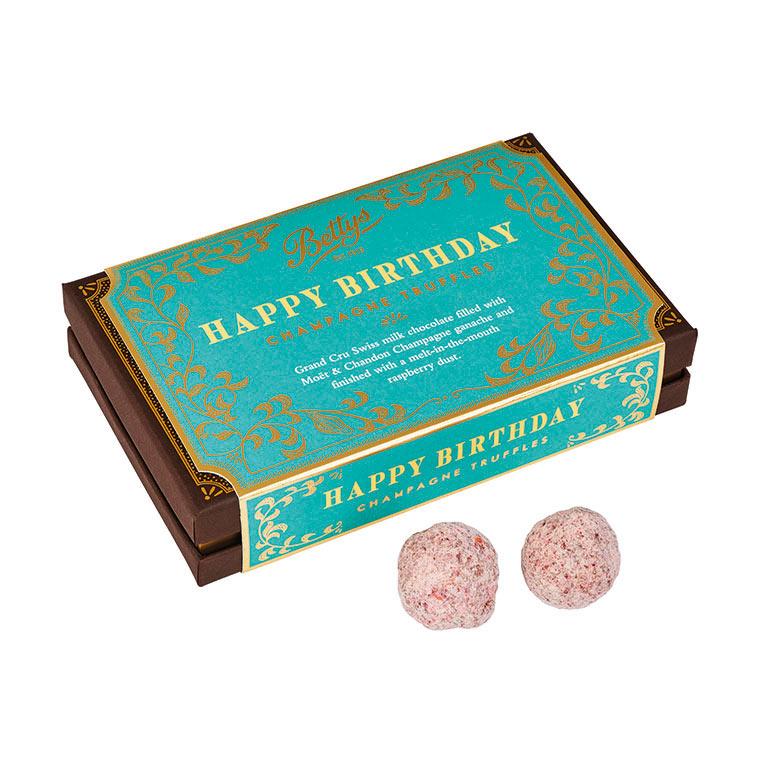 Happy Birthday Champagne Truffles