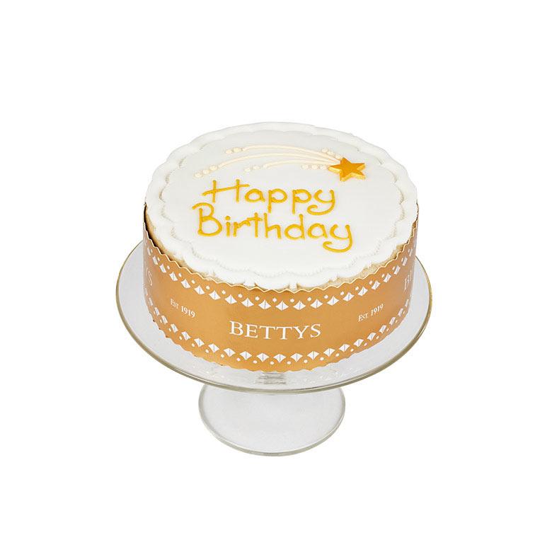 Happy Birthday Star Cake
