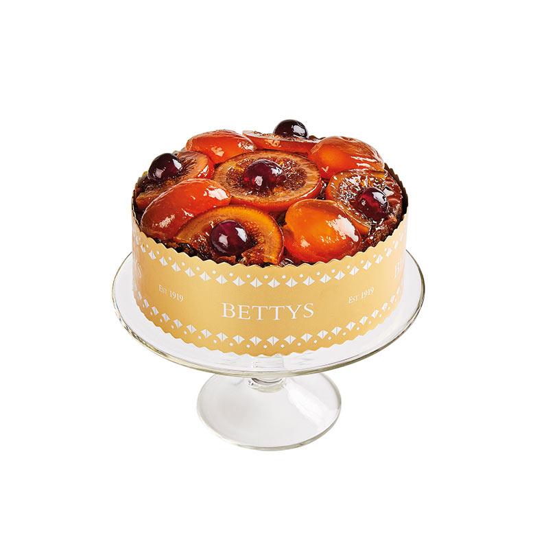 Jewelled Fruits Christmas Cake