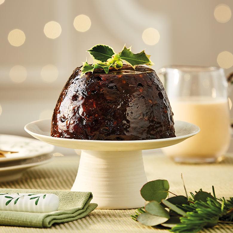 Large Classic Christmas Pudding