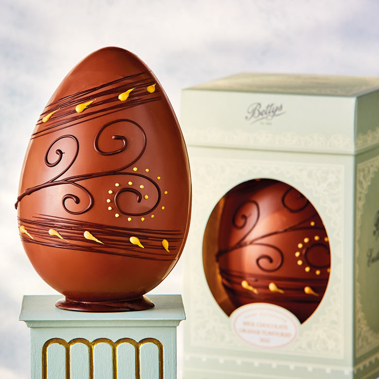 Milk Chocolate Orange Flavoured Egg with Box
