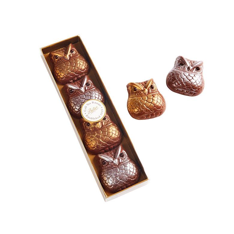 Milk Chocolate Owls