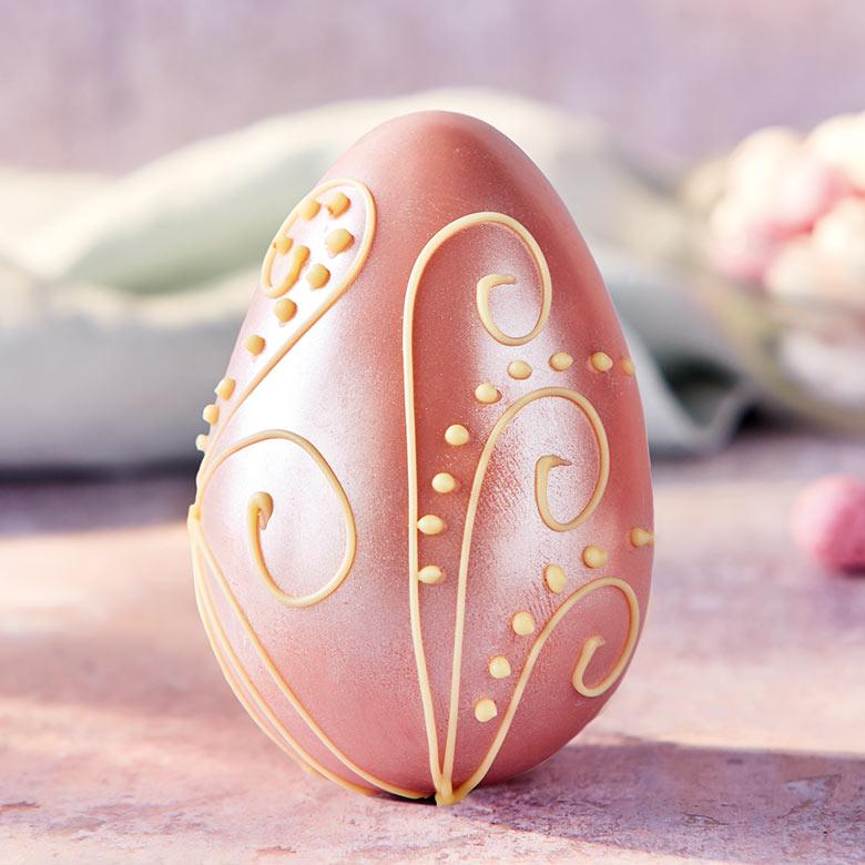 Pink Shimmer Egg