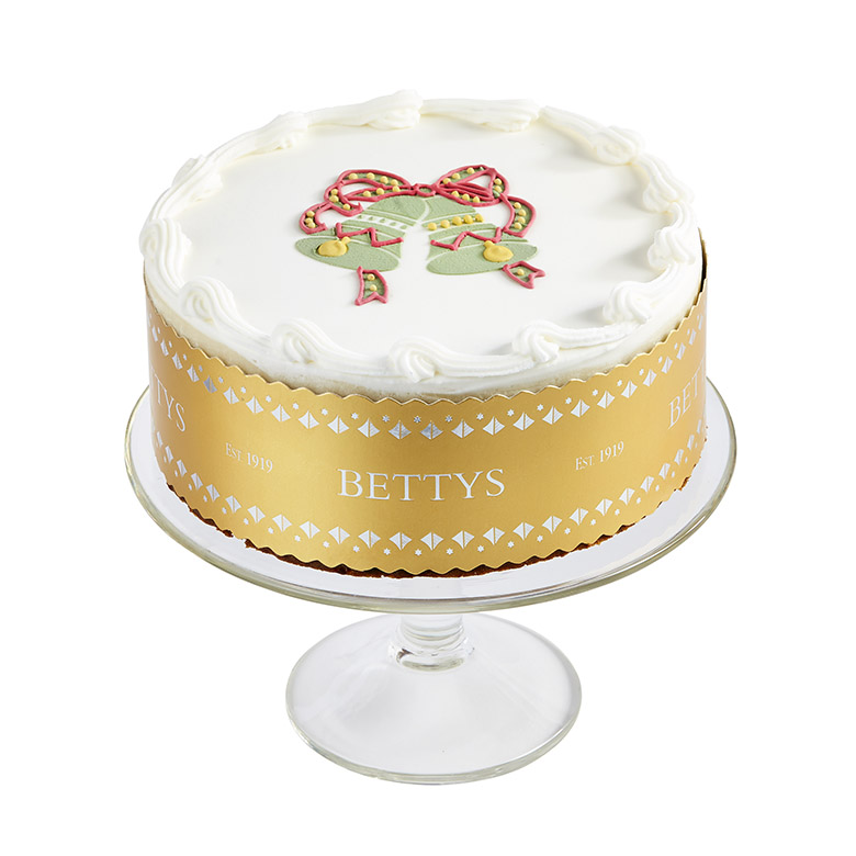 Royal Iced Bell Christmas Cake