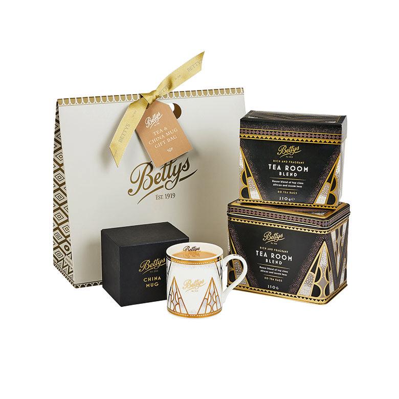 Tea and Mug Gift Bag