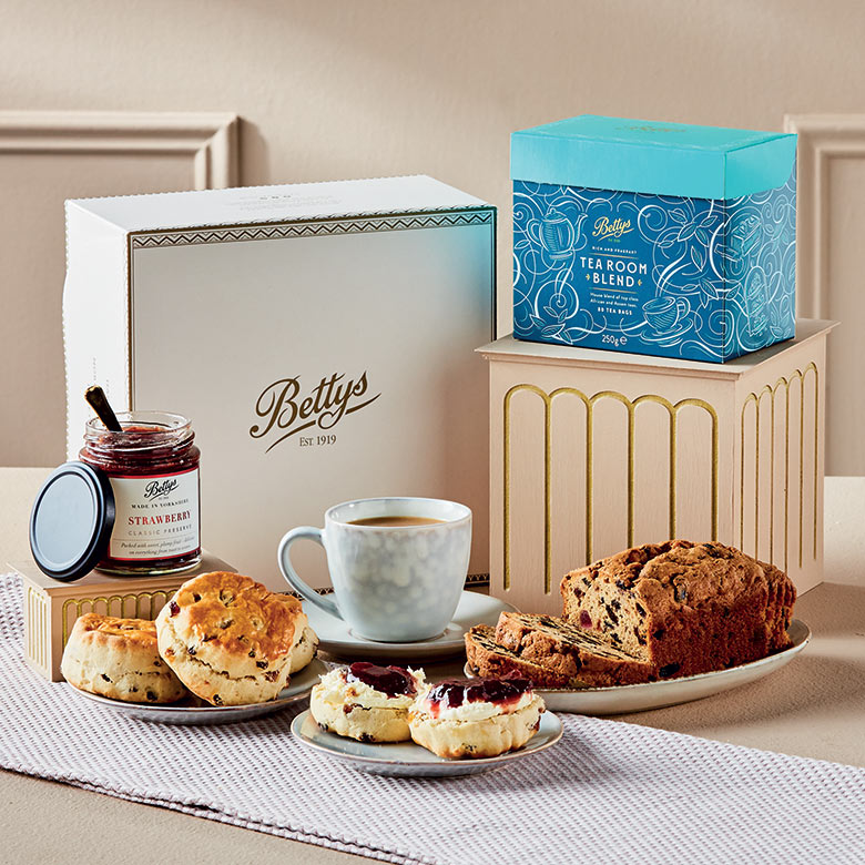 Tea and Scones Gift Selection