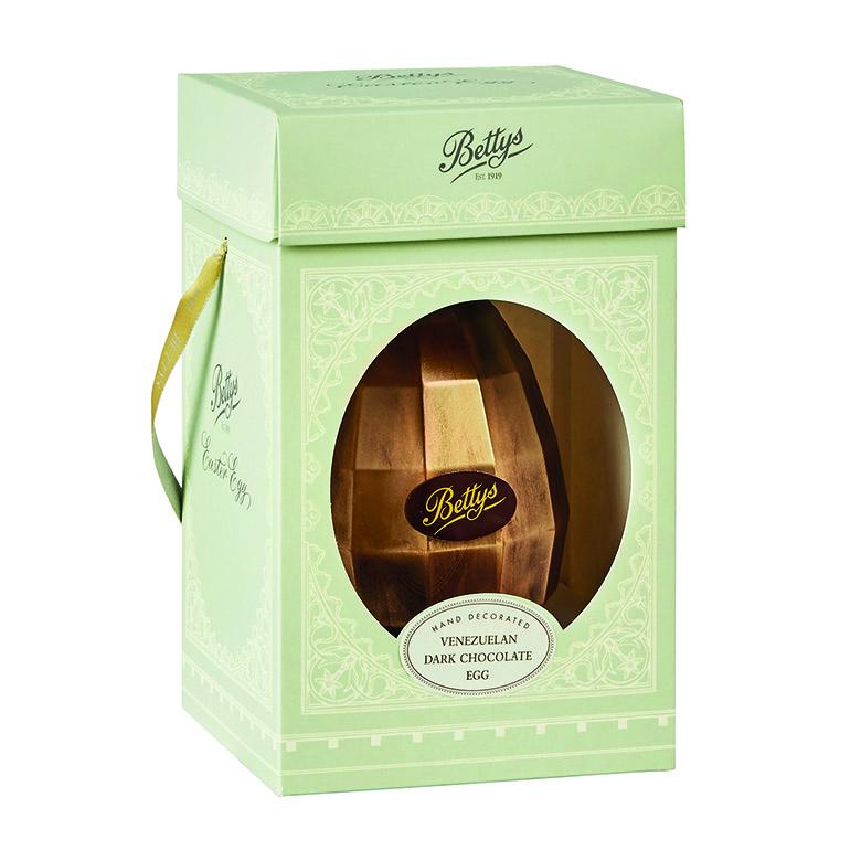 Venezuelan Dark Chocolate Egg in Box