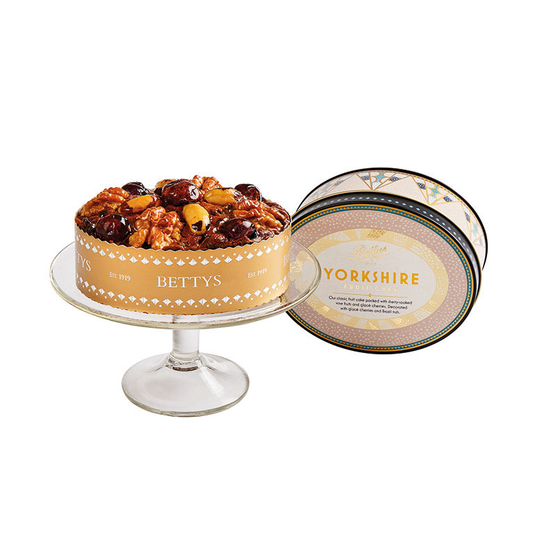 Yorkshire Fruit Cake in Oval Tin