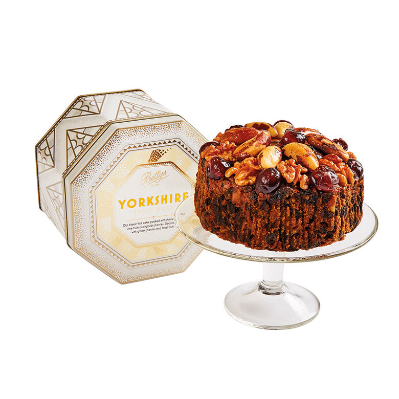 Yorkshire Fruit Cake in a Tin