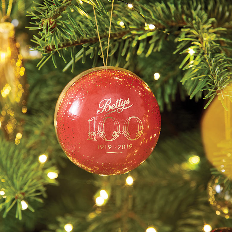 Bettys Bauble Filled with Chocolates
