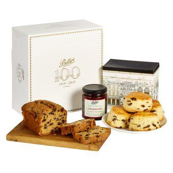 Centenary Tea And Scones Gift Box