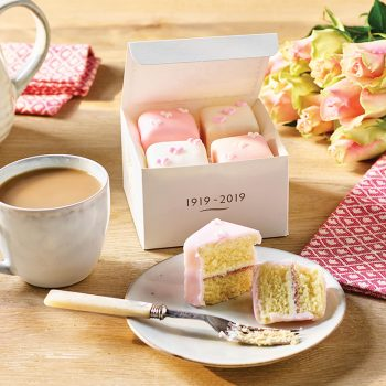 Fondant Fancies Box Of 4 Lifestyle
