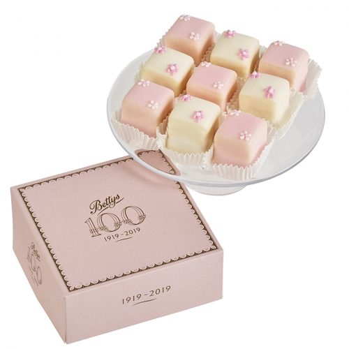 Fondant Fancies Box Of 9