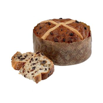Large Hot Cross Bun