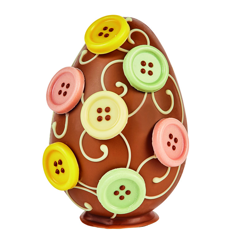 Milk Chocolate Button Egg