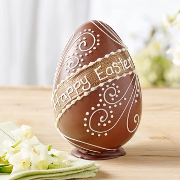 Milk Chocolate Happy Easter Egg Lifestyle