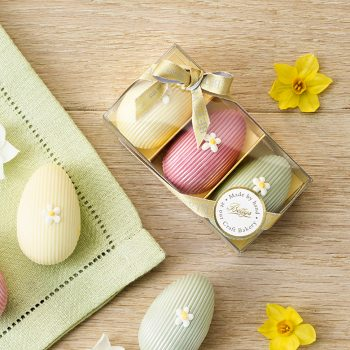 Trio Of Filled Chocolate Eggs Lifestyle